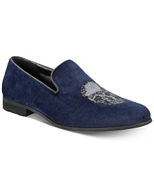I.N.C. Men's Nova Velvet Slippers, Created for Macy's