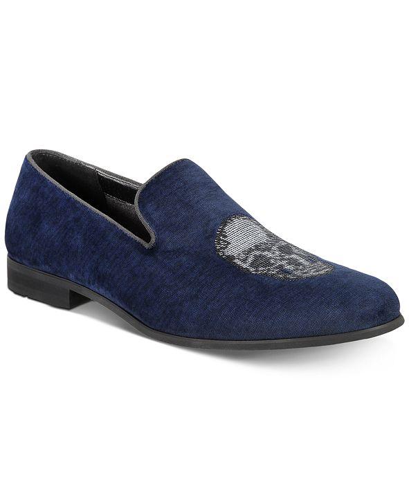 INC International Concepts INC Men's Nova Velvet Slippers, Created for Macy's