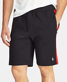 Polo Ralph Lauren Men's P-Wing Double-Knit Performance Shorts, Created for Macy's