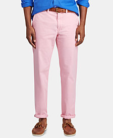 Polo Ralph Lauren Men's Straight Fit Stretch Chino Pants