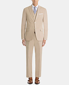Lauren Ralph Lauren Men's UltraFlex Classic-Fit Tan Cotton Suit Separates