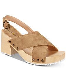 Seven Dials Marina Block-Heel Sandals