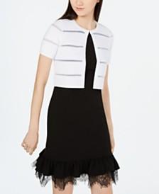 Calvin Klein Short-Sleeve Cardigan