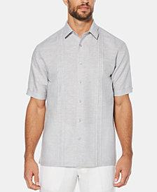 Cubavera Men's Crossdyed Linen Short-Sleeve Shirt