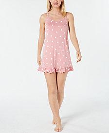 Jenni Ruffled Knit Chemise, Created for Macy's