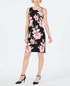 Charter Club Floral-Print Shift Dress, Created for Macy's
