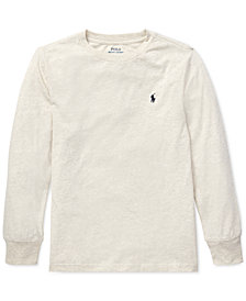 Polo Ralph Lauren Big Boys Long-Sleeve Cotton T-Shirt