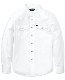 Polo Ralph Lauren Big Boys Cotton Oxford Shirt
