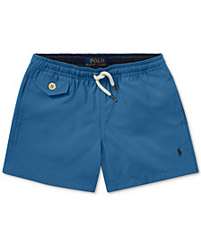 Polo Ralph Lauren Toddler Boys Traveler Twill Swim Trunks