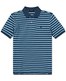 Polo Ralph Lauren Big Boys Featherweight Cotton Mesh Polo