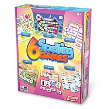 Spelling Games Set of 6 Different Games