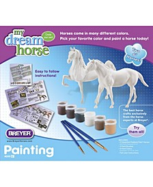 Paint Your Own Horse Activity Kit, Quarter Horse and Saddlebred