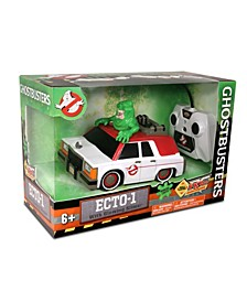 Ghostbusters RC Ecto 1 With Glowing Slimer