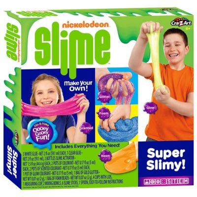 Cra Z Art Cra Z Slime Nickleodeon Make Your Own Super Slimy Slime Kit