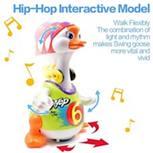 Hola Lightup Dancing Goose Musical Educational Toy