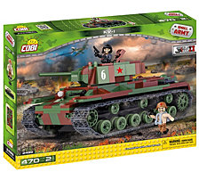 COBI Small Army World War II KV 1 Tank 470 Piece Construction Blocks Building Kit
