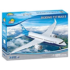 Boeing 737 Max 8 Airplane 200 Piece Construction Blocks Building Kit