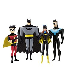 NJ Croce DC Comics The New Batman Adventures Masked Heroes Bendable Figures Set