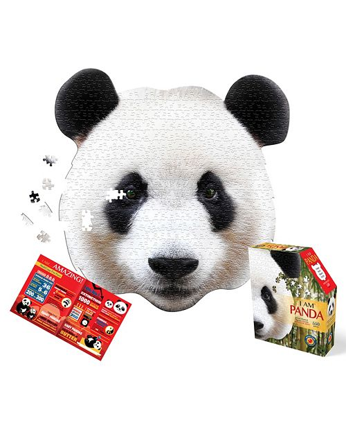 Madd Capp Games Madd Capp Puzzles I AM Panda 550 Piece Puzzle