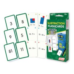 Junior Learning Subtraction Flashcards