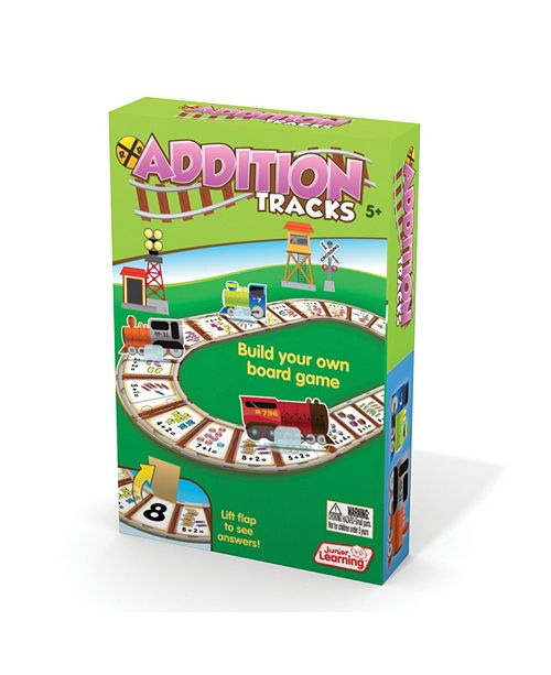 Junior Learning Addition Tracks Board Game