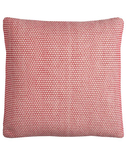 """Rizzy Home 22"""" x 22"""" Geometrical Design Down Filled Pillow"""