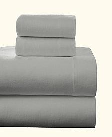 Pointehaven Superior Weight Cotton Flannel Sheet Set Twin