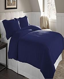 Superior Weight Cotton Flannel Duvet Set - Full/Queen