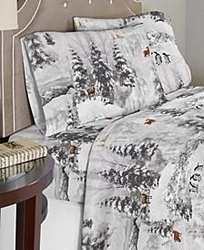 Luxury Weight Cotton Flannel Sheet Set Twin XL