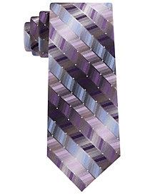 Van Heusen Men's Hawk Geometric Tie