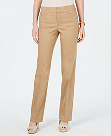 Charter Club Tummy Control Trouser Jeans, Created for Macy's