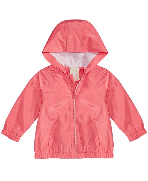 First Impressions Baby Girls Hooded Windbreaker Jacket, Created for Macy's
