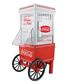 Coca-Cola 12-Cup Hot Air Popcorn Maker