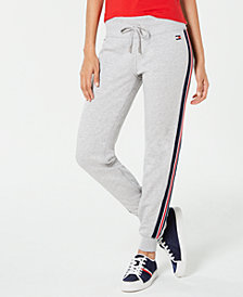 Tommy Hilfiger Sport Side-Striped Joggers, Created for Macy's