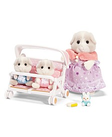 Critters - Patty And Paden'S Double Stroller Set
