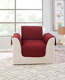 Elegant Pick Stitch Chair Protector