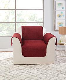 Sure Fit Elegant Pick Stitch Furniture Protector