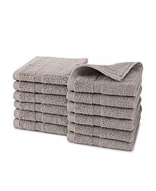 Purity 12-Pc. Washcloth Set