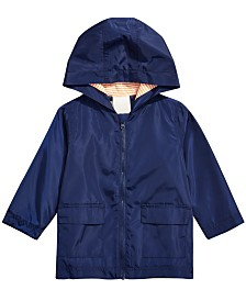 First Impressions Baby Boys Hooded Windbreak Jacket, Created for Macy's