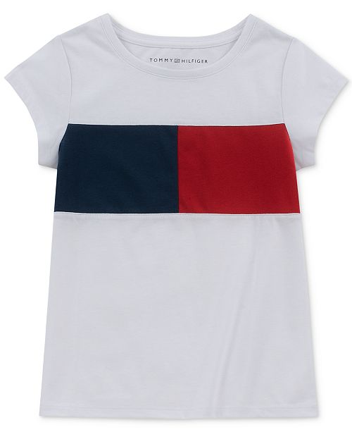 exclusive shoes arrives online here Toddler Girls Logo Flag T-Shirt