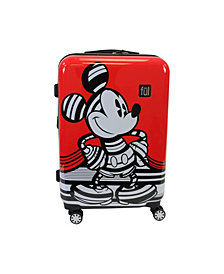 "FUL Disney Mickey 25"" Hardside Spinner Suitcase"