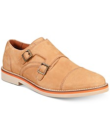 Men's Baxter Monk Strap Oxfords, Created for Macy's