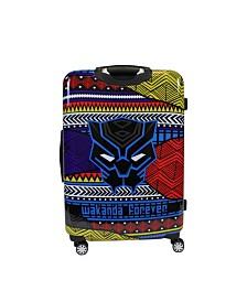 """FUL Marvel Black Panther Tribal Art 25"""" Hardside Spinner Suitcase"""