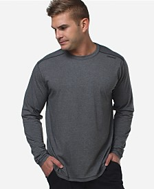 Cariloha Men's Activewear Viscose from Bamboo Long-Sleeve Shirt