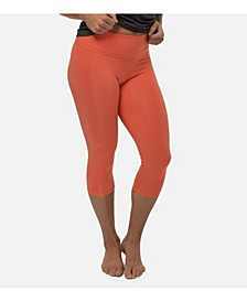 Women's High Waist Cropped Leggings
