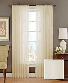 Textured Chiffon Sheer Drapery Window Collection