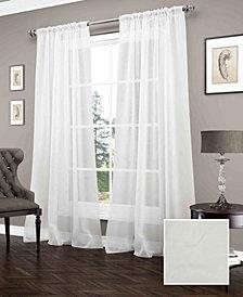 Carrington 52'' x 84'' Sheer Window Curtain Panel