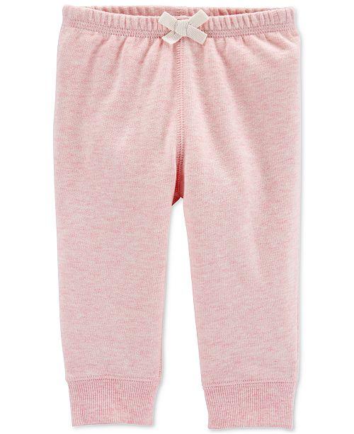 8049b78e3a Baby Girls Cotton Jogger Pants