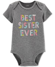 Carter's Baby Girls Best Sister Ever Bodysuit