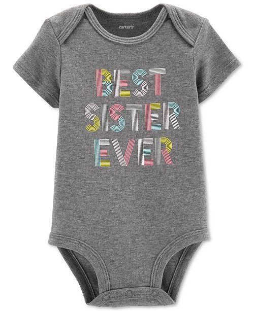 Carter's Baby Girls Best Sister Ever Bodysuit